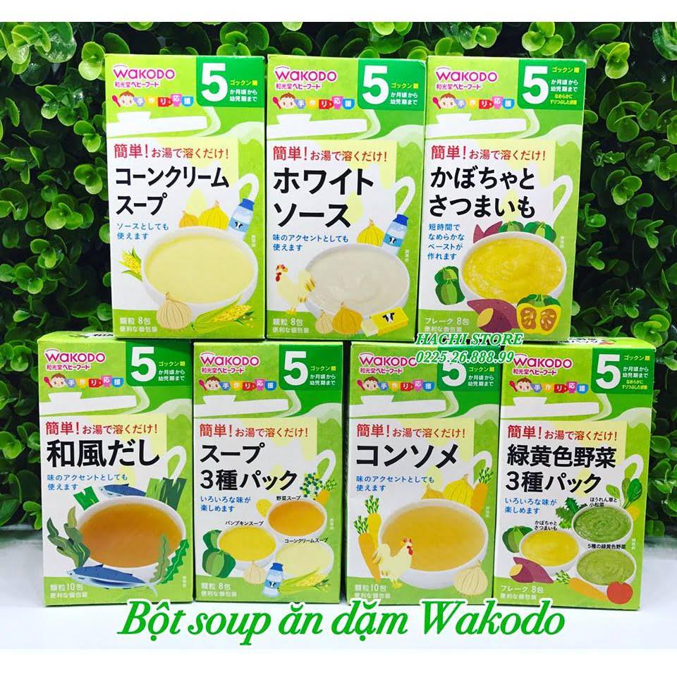Bột ăn dặm Wakodo Nhật Bản