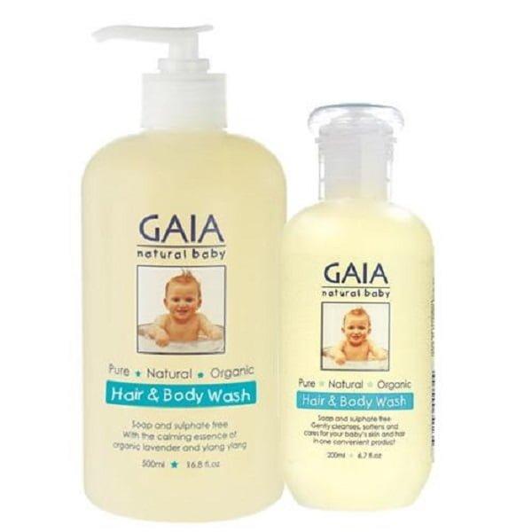 Dầu gội - Sữa tắm hữu cơ Gaia