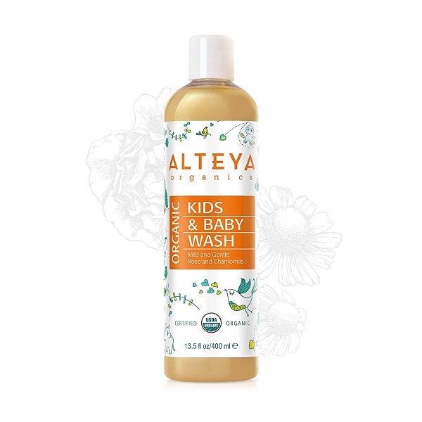 Sữa tắm gội hữu cơ cho trẻ em - Alteya Organic Baby Wash