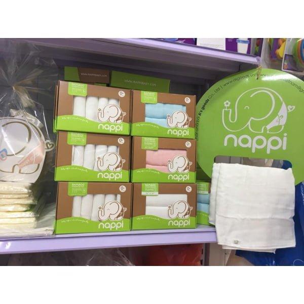 Khăn sữa sợi tre Nappi