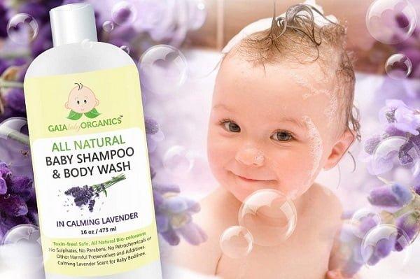 Sữa tắm gội cho trẻ sơ sinh