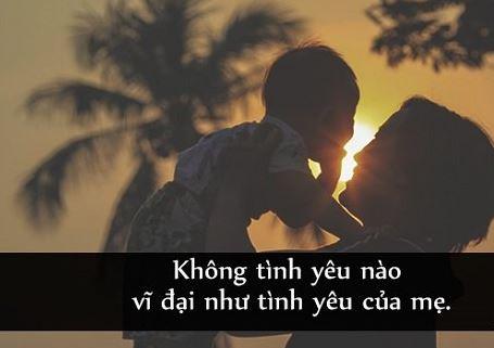 Những câu nói hay về tình mẹ dành cho con