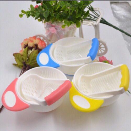 Bộ rây nghiền thức ăn bằng nhựa cho bé