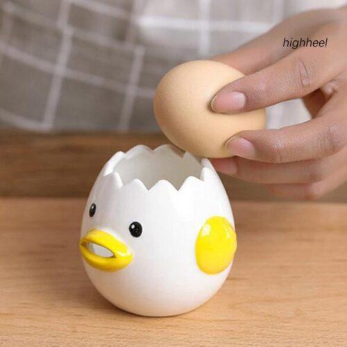 dụng cụ tách lòng đỏ trứng hình con gà