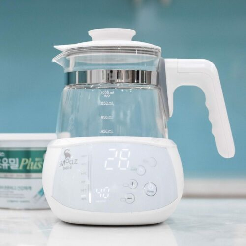 Máy hâm nước pha sữa giữ nhiệt moaz bebe